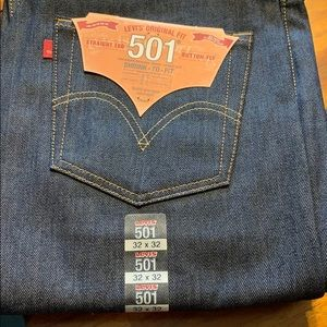 Levi's 501 shrink to fit 32*32 brand new